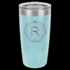 Light Blue Stainless Steel Ringneck Double Wall Insulated Travel Mug Drinkware