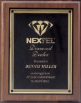 Plaque with Square Plate Award Achievement Awards
