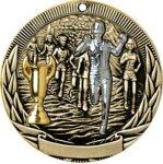 Tri-Colored Series Medals -Cross Country Cross Country Trophy Awards