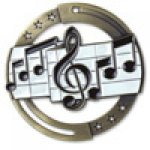 M3XL Series Medals -Music  Music Trophy Awards