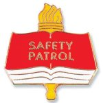 Safety Patrol Lapel Pin Scholastic Trophy Awards