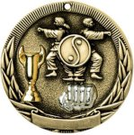 Tri-Colored Series Medals -Karate Tri-Colored Medal Awards
