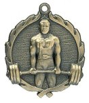 Wreath Medal -Weightlifting Male Wreath Medal Awards