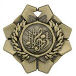 Imperial Medals -Music Wreath Medal Awards